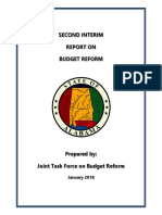 Budget Task Force Report
