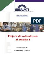 89001042 Mejora de Métodos de Trabajo i