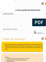 1. Foepro. Introduccion - Formyeval Proy