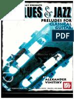 Vinitsky Alexander Blus Amp Amp Jazz Preludes for Classical Guitar-2006