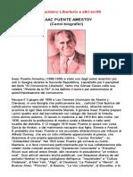 Isaac Puente Amestoy - Il Comunismo Libertario e Altri Scritti  (Cenni Biografici)