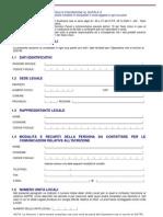Modulo Di Autodichiarazione Per Iscrizione Al Sistri