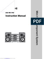 Hitachi Axm140 Instruction Manual