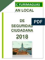 Plan Local de Seguridad Ciudadana 2018 (Borrador)