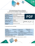 Guía de Actividades y Rúbrica Cualitativa de Evaluacion - Fase 2. Plan y Acción Solidaria