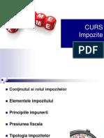 CURS_Impozitele Notiuni Generale