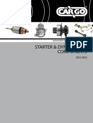 1,4kW Denso Starter 0001107442 0001107443 0001108145 0001108157 0001108169