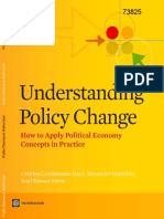 Understanding Policy Change, How to Apply Political Economy Concepts in Practice.