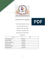 FIN 201 Section 2 the Hakais G5 Financial Report