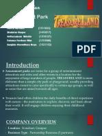 Business Plan Treasureland BUS 201 (Full & Final Slide)