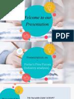 Strategic Management MGT 490 PRESENTATION