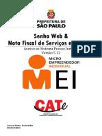 Senha Web e NFSe 2017