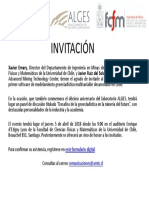 Invitación Alges