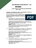 Mancomunidad Huancavelica e Ica
