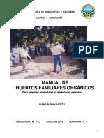 2003, Manual El Huerto Familiar Organico, G