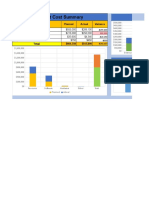 Project Cost Management Plan Template Download Free
