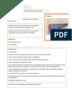 Ficha Presentación Montessori MATEMATICAS