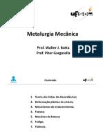 Aula PGargarella Fluencia de Metais