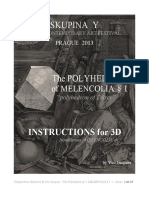 Yvo Jacquier-Construction Polyhedron Durer