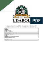 Informe Modulo, balance de materia