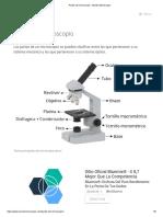 Partes Del Microscopio - Mundo Microscopio