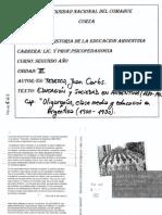 TEDESCO_Cap Oligarquia y Clase Media...1880-1945