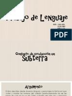 Trabajo de Lenguaje