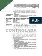 Ficha de Seguridad Garhox Solucion 2014