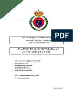 Plan de Transportes Ciudad de Yakarta