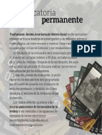 Trashumante Convocatoria Permanente