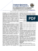 Crecimiento Vegetativo y Esporulación de Bacillus Subtilis 83 en Medio