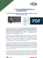 IMPACTO DE LA FORMACIÓN EN LA RETRIBUCIÓN