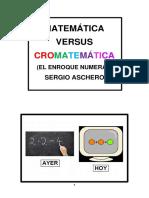 Matemática Versus Cromatemática