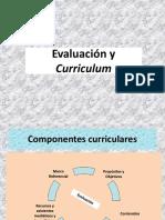Evaluacion y curriculum