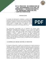 Agenda TALLER SOBRE EL PROCESO DE RENDICION DE CUENTAS DE LAS AUTORIDADES ELECTAS, DE LIBRE NOMBRAMIENTO Y REPRESENTANTES LEGALES EMPRESAS PUBLICAS