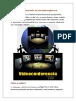 Evidencias Protocolo Para Desarrollo de Una Video Confer en CIA
