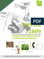 Clasificador Dominicano de actividades económicas- DGII.pdf