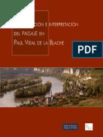 La Descripción e Interpretación del Paisaje en Pau Vidal de la Blache.pdf