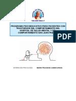 Programa Psicoeducativo sin terminar