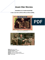 Vietnam War Movies [Master Thesis]_Bart Van Tricht