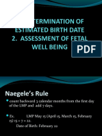 Assessment of Fetal g&d