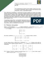 Programação e Métodos Númeriocos