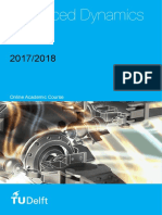 Syllabus Advanced Dynamics 2018