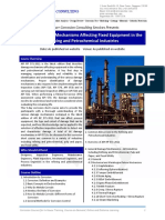 API 571 Damage Mechanisms Affecting Fixed Equipment in the Refining and Petrochemical Industries