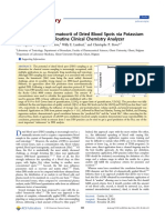 2012 - Prediction of the Hematocrit of Dried Blood Spots via Potassium Measurement on a Routine Clinical Chemistry Analyzer