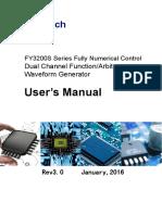 FY3200S Series User's Manual V3.0