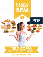 Como Comer Bem e Ter o Corpo Que Sempre Sonhou (1)