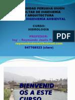 Clase 1 de Hidrologia