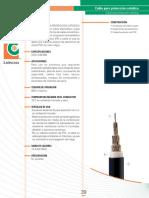Cable Catodica