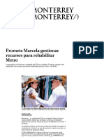 31-03-18 Promete Marcela Gestionar Recursos Para Rehabilitar Metro - Grupo Milenio